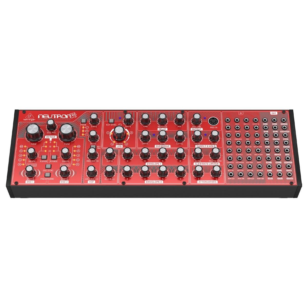 behringer neutron semi modular synthesizer b stock at gear4music. Black Bedroom Furniture Sets. Home Design Ideas