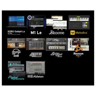 nanoPAD2 USB MIDI Controller, White - Software Bundle