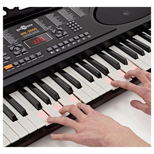 MK-3000 Key-Lighting Keyboard by Gear4music - B-Stock
