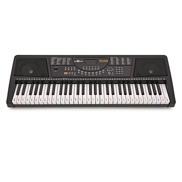 Colourful Piano and Keyboard Stickers for 61 Note Keyboards