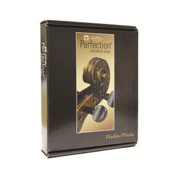 Perfection Peg Set Violin/Viola Plastic  4/4 8.5mm