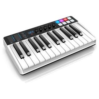 iRig Keys I/O 25 MIDI Controller Keyboard - Angled