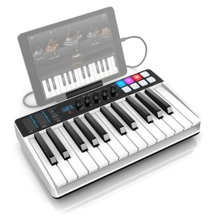 iRig Keys I/O 25 Keyboard - Angled Top