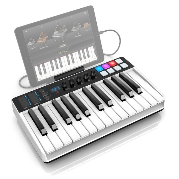 iRig Keys I/O 25 Keyboard - Angled Top