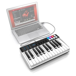 iRig Keys I/O 25 - Angled Top Laptop (Laptop Not Included)