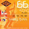 Rotosound RS66S Short Scale Steel Bass Guitar Strings, 40-90 - B-Stock
