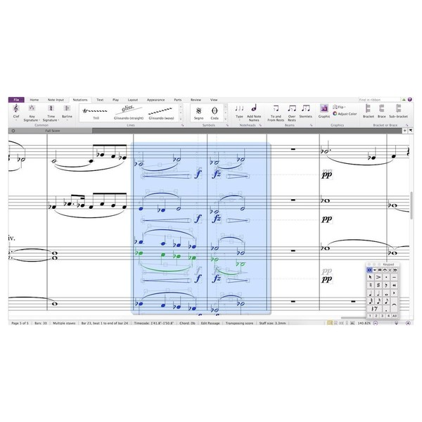 Sibelius Composing and Notation Software - Screenshot 2