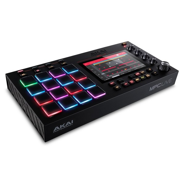 Akai MPC Live Production Machine - Angled