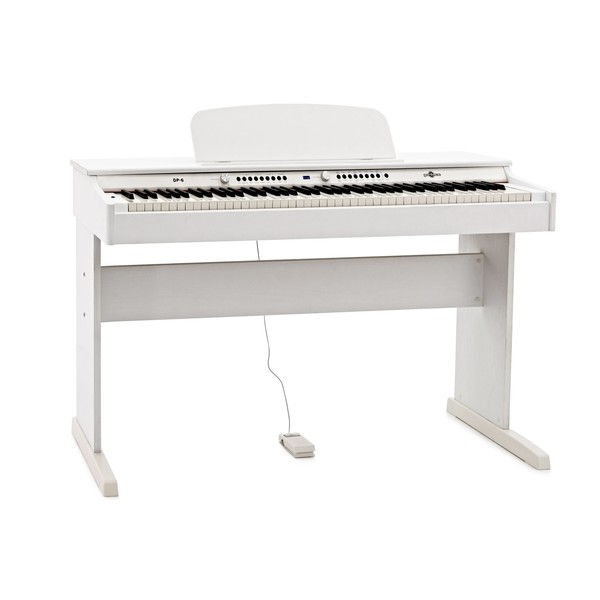DP-6 Digital Piano by Gear4music, White