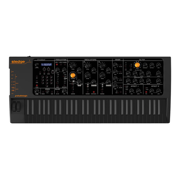 Studiologic Sledge 2.0 61 Key Synthesizer, Black