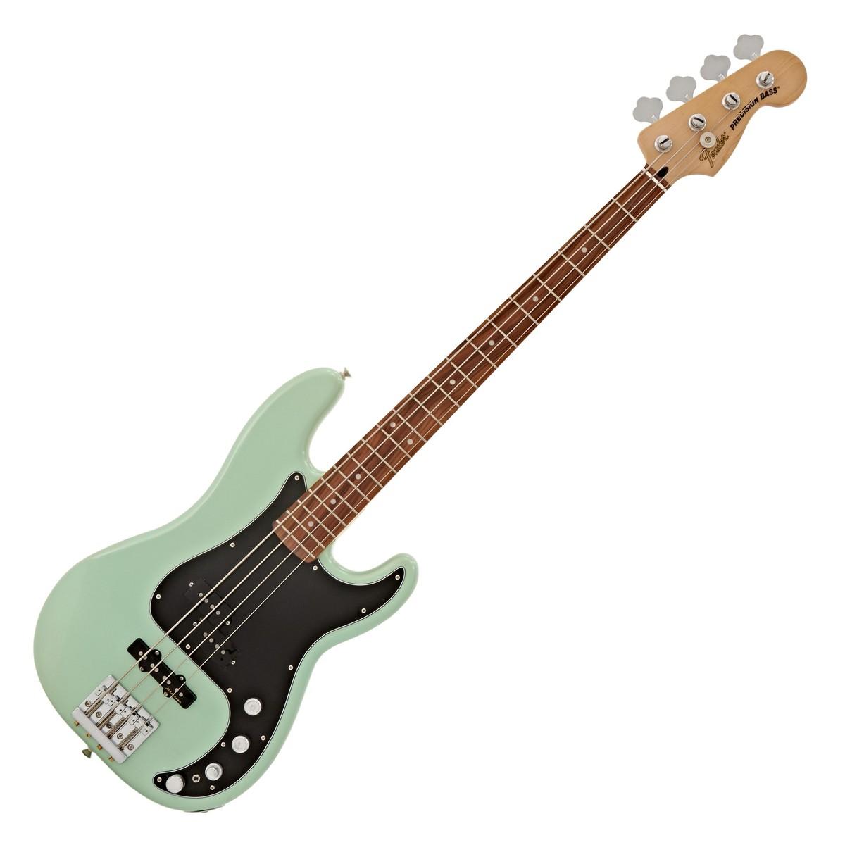 ... fender deluxe active p bass special, pau ferro, surf pearl box DiMarzio P  Bass