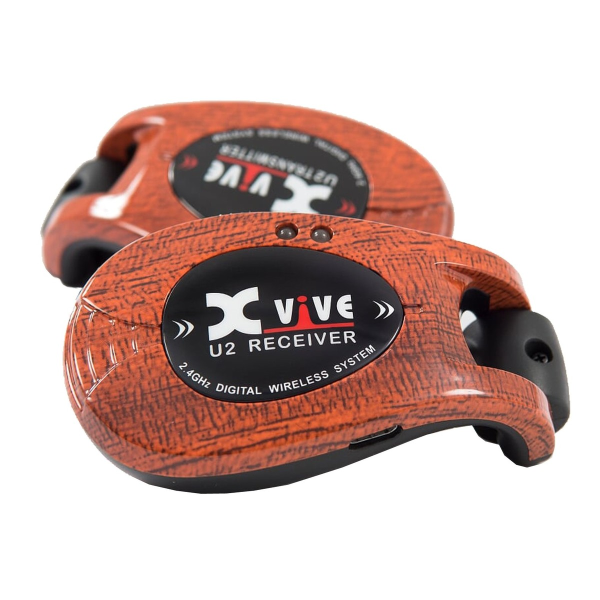 xvive wireless guitar system wood finish gear4music. Black Bedroom Furniture Sets. Home Design Ideas