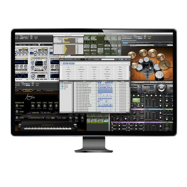 Avid Pro Tools Support Plan - Screen (Monitor Not Included)