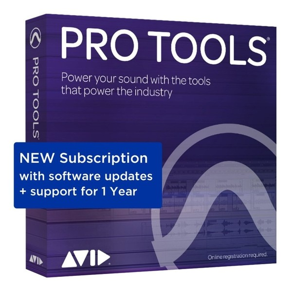 Pro Tools 12-Month Subscription Licence - Boxed