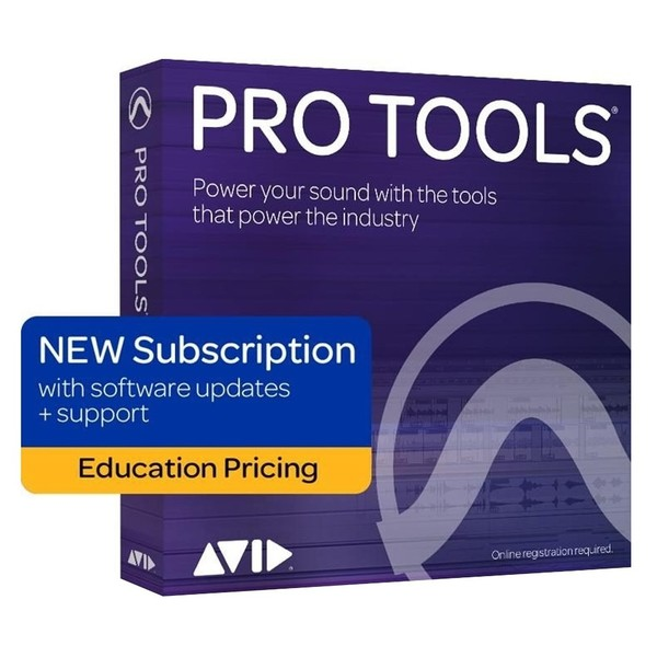 Pro Tools 12-Month Subscription Licence (Student/Teacher) - Boxed Main