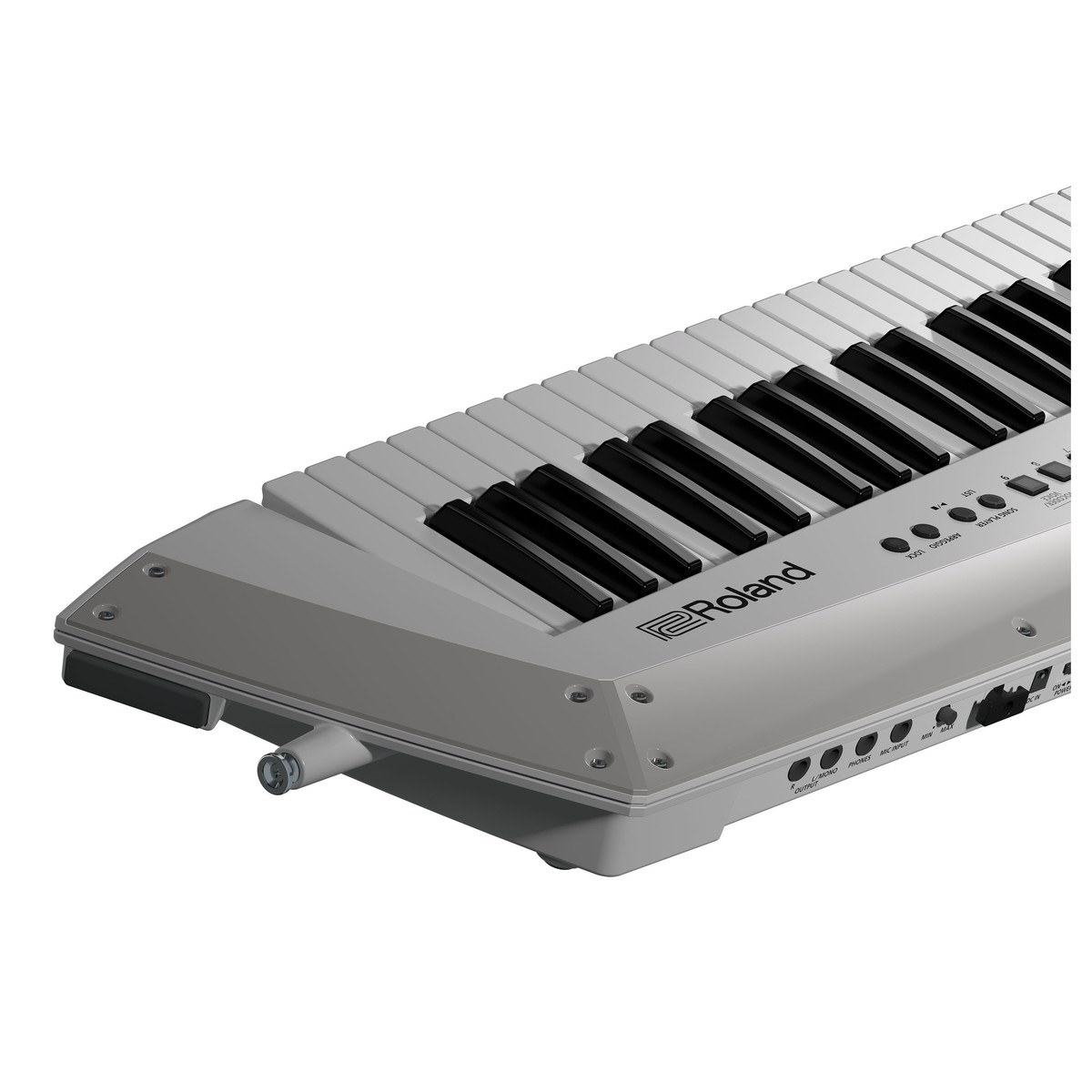 Roland Ax Edge Keytar White At Gear4music A Wiring Output Jack Prs Loading Zoom