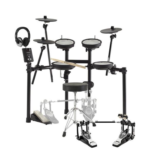 Roland TD-1DMK V-Drums Electronic Drum Kit Double Kick Bundle - Main Image