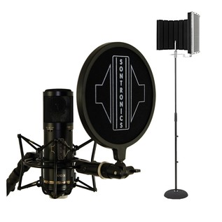 Sontronics STC-3X Home Recording Bundle, Black - Main