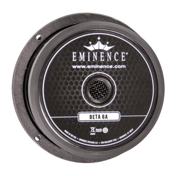 Eminence Beta 6A 175 Watt 6.5'' Speaker, 8 Ohm