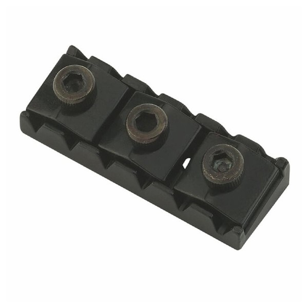 Floyd Rose Nut R-2, Black Front View