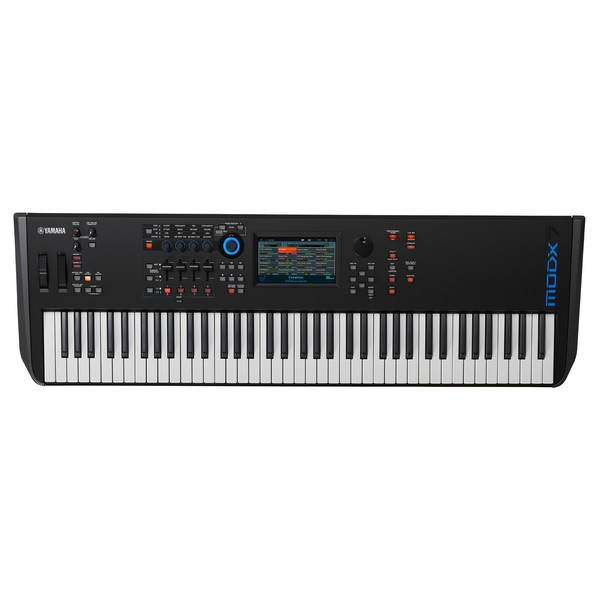 Yamaha MODX7 Synthesizer Keyboard - Top