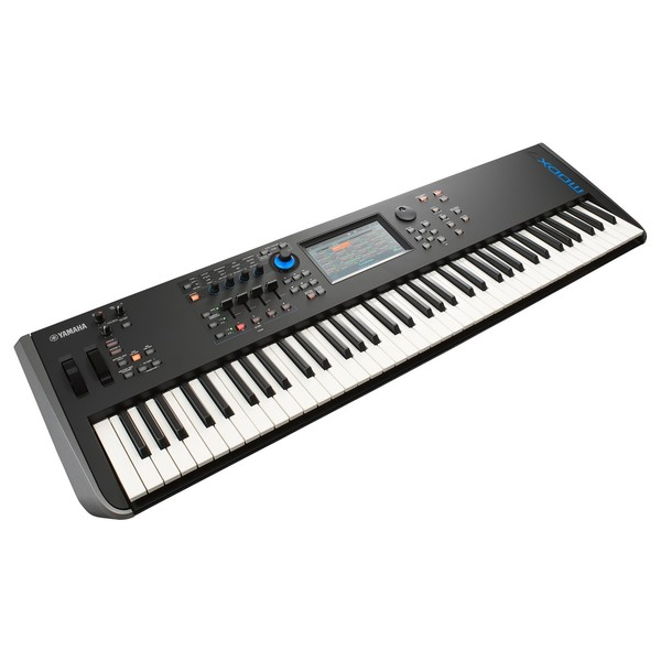 MODX7 Synthesizer Keyboard - Angled 2