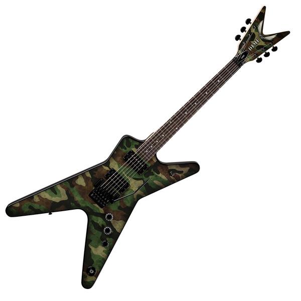 Dean Dimebag Dime Camo Floyd ML Electric Guitar, Camouflage Graphic