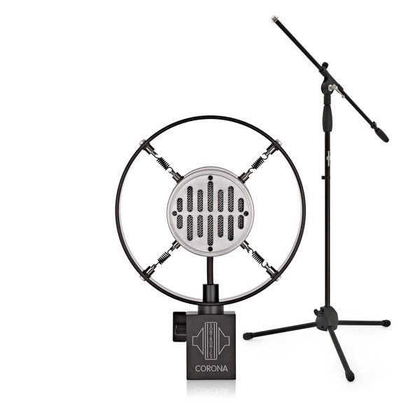 Sontronics CORONA Dynamic Vocal Microphone with Mic Stand - Full Bundle