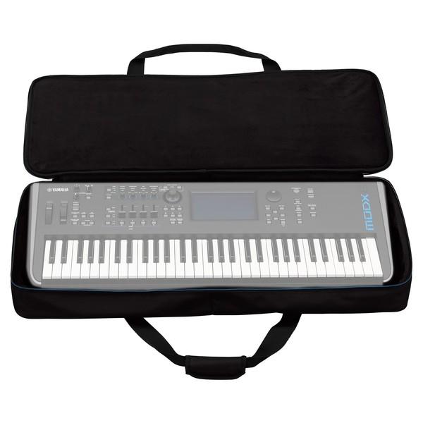 Yamaha MODX6 Synthesizer Keyboard Soft Case - Open (Keyboard Not Included)