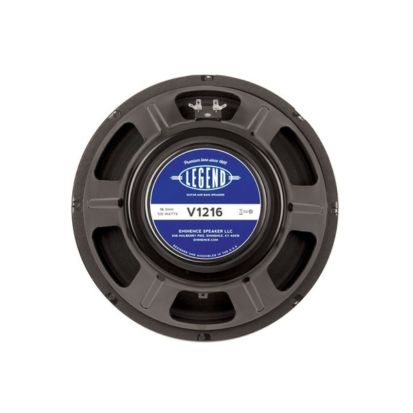 Eminence Legend V128B 120 Watt 12'' Speaker, 16 Ohm