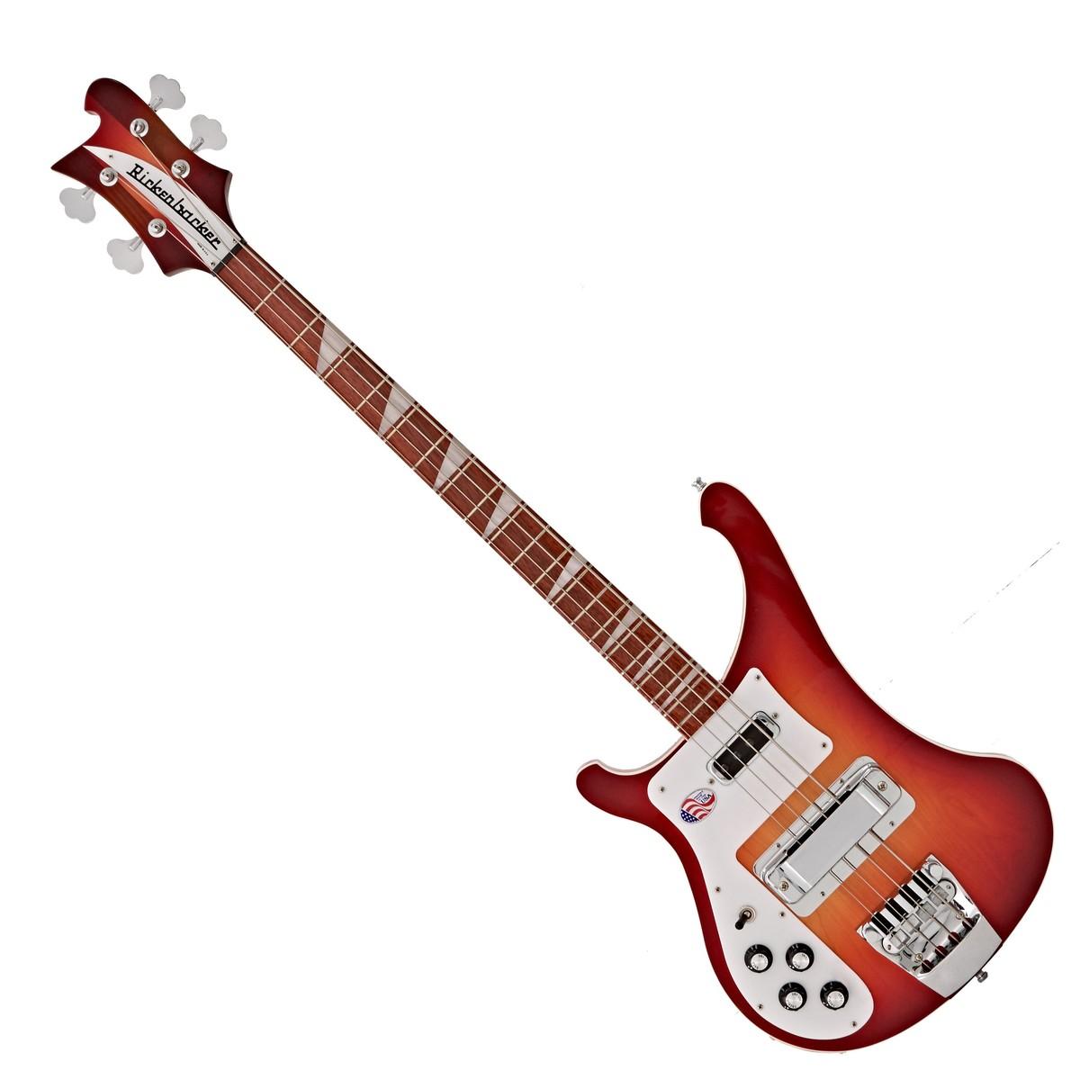 rickenbacker 4003 left handed bass guitar fireglo at gear4music. Black Bedroom Furniture Sets. Home Design Ideas