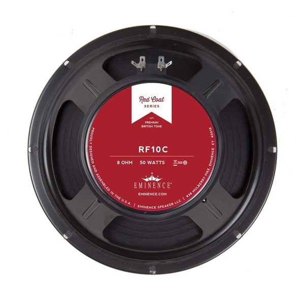 Eminence Red Fang 10CA 50 Watt 10'' Speaker, 8 Ohm
