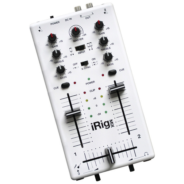 IK Multimedia iRig MIX Mobile Mixer for iPhone and iPad