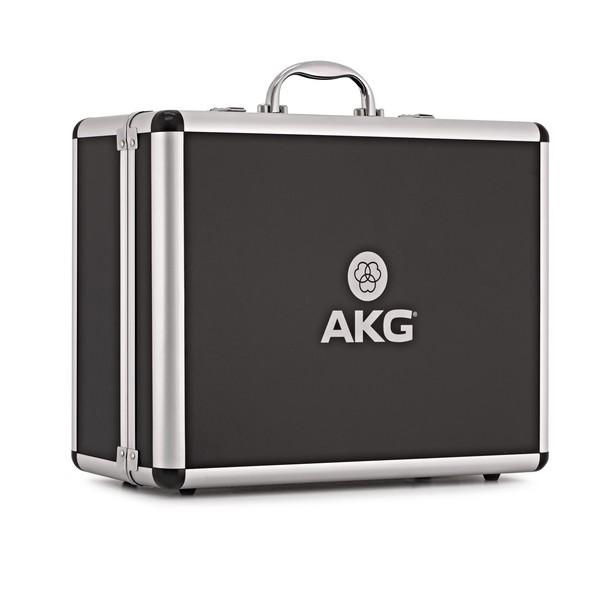 AKG P820 Tube Large Diaphragm Microphone, Black