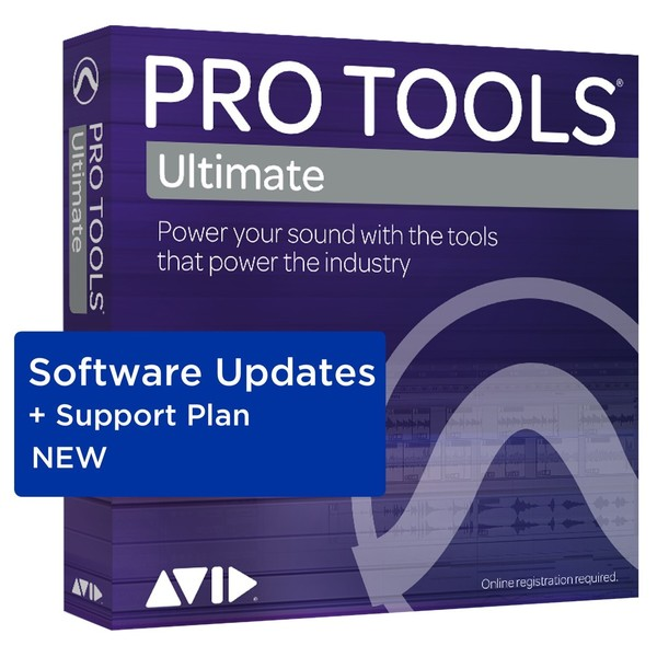 Pro Tools Ultimate New Support Plan - Boxed