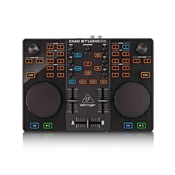 Behringer CMD Studio 2A DJ MIDI Controller, Top View