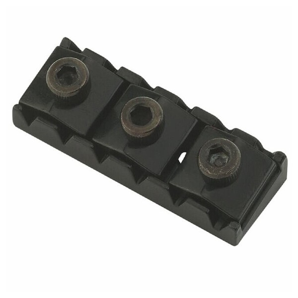 Floyd Rose Nut R-4, Black Front View