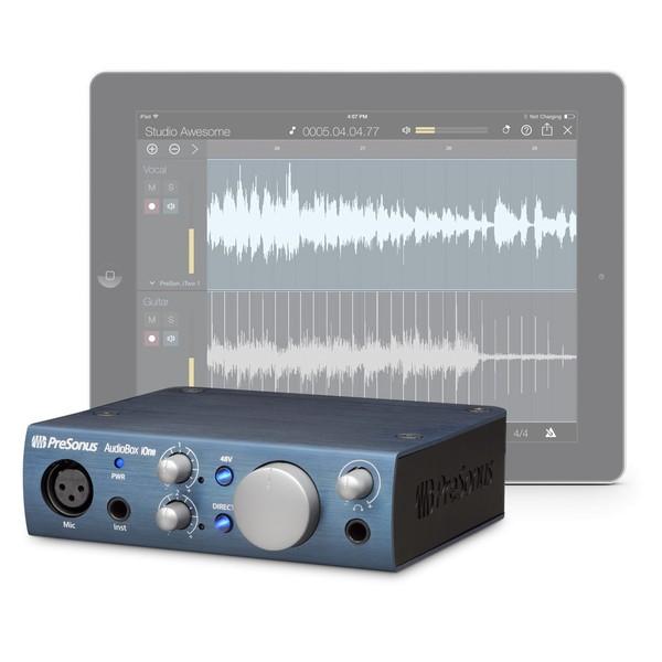 PreSonus AudioBox iOne iPad/USB Audio Interface - Works with iPad (iPad not included)