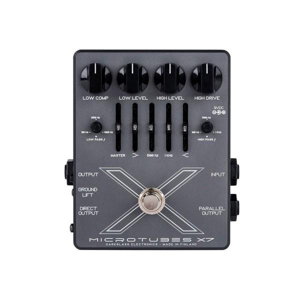 Darkglass Microtubes X7 Multiband Bass Drive/EQ/DI - Front