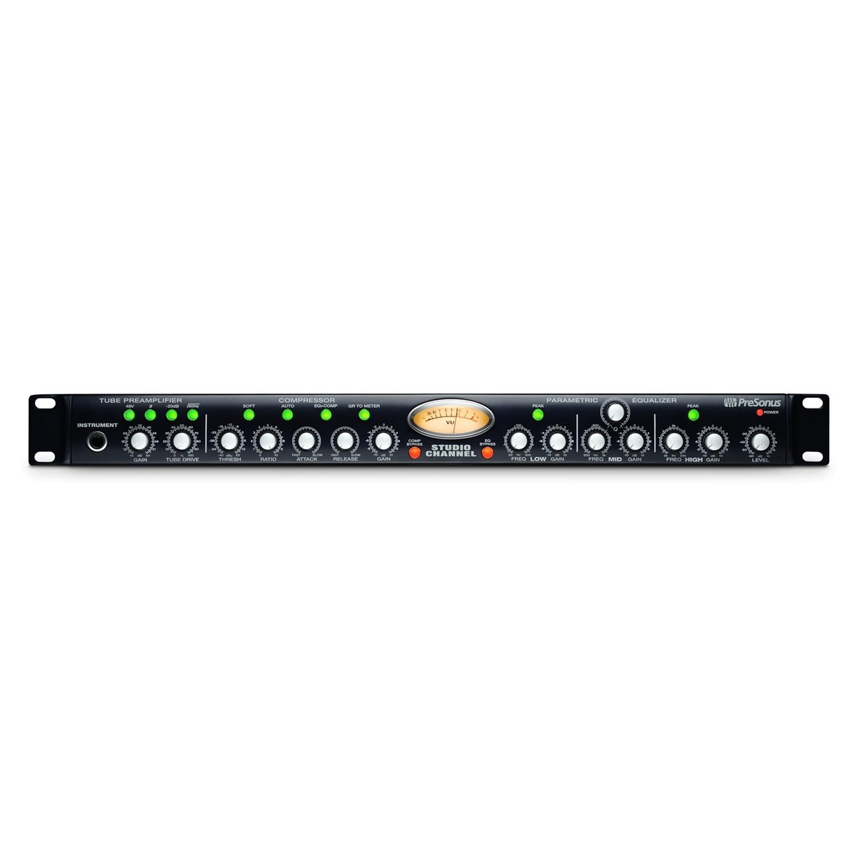 Click to view product details and reviews for Presonus Studio Channel Mono Vacuum Tube Preamp Compressor Eq.