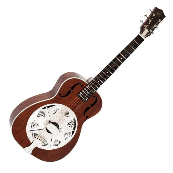 Sigma RM-140+ Acoustic Cone Resonator, Mahogany Front View