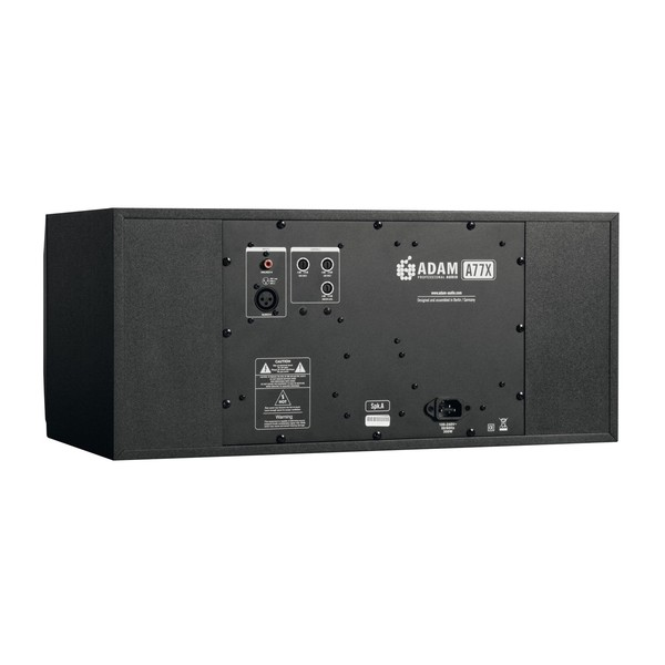 Adam A77X Active Studio Monitor, Left - Back