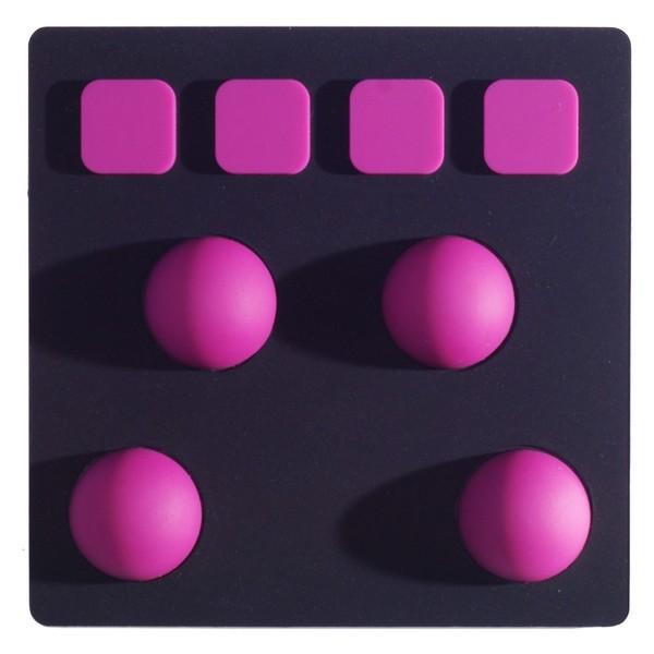 Joué Bubbles, Black/Purple - Top