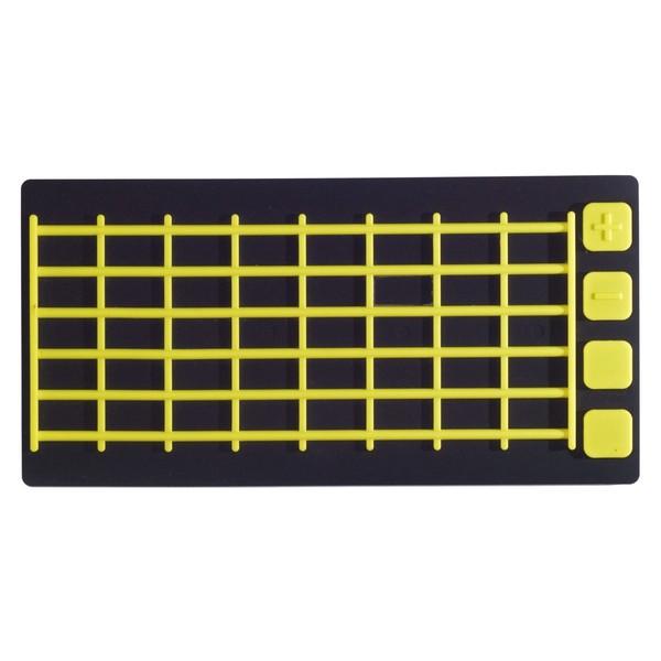 Joué Fretboard, Black/Yellow - Top