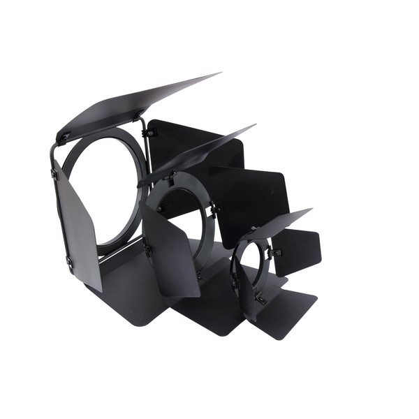 Eurolite Barndoors for PAR-38 Spotlight, Black