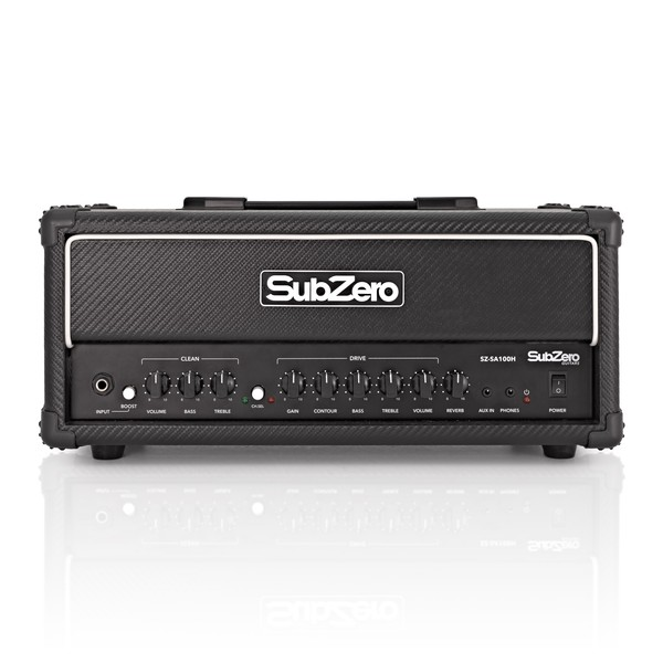 SubZero SZ-SA100H 100W Solid State Amplifier Head