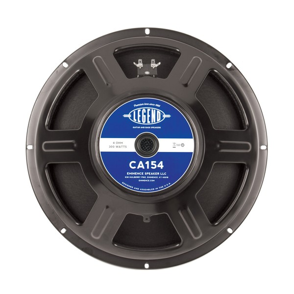 Eminence Legend CA154 300 Watt 15'' Speaker, 4 Ohm