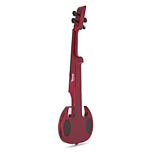 Wood StingRay SVX4 Electric Violin, Candy Apple Red back