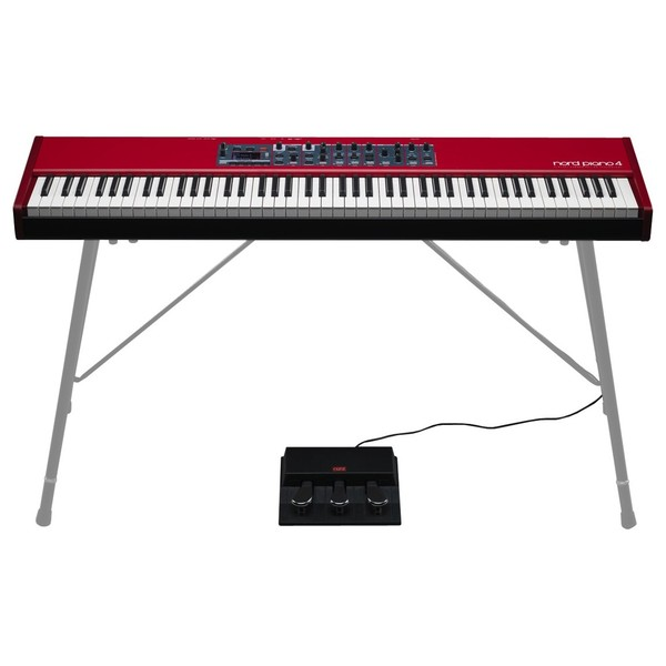 Nord Piano 4 88-Key Stage Piano - Full With Triple Pedal (Stand Not Included)