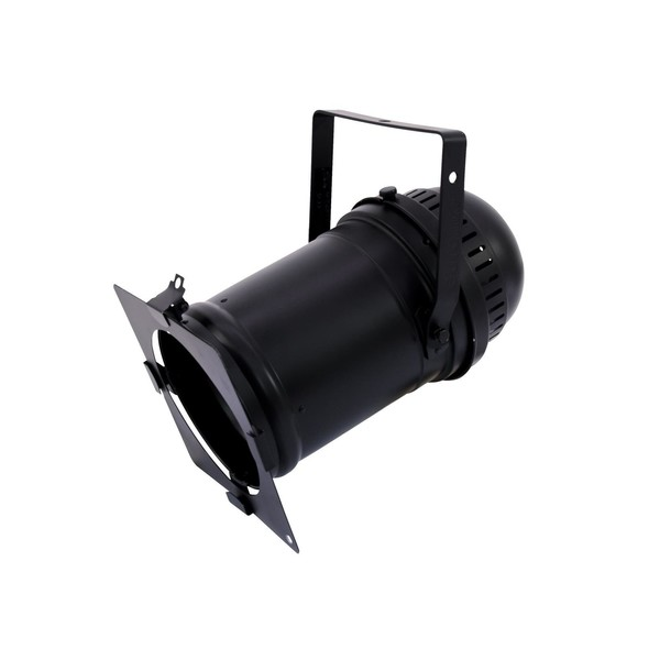 Eurolite PAR-64 Spotlight, Black - side view 1
